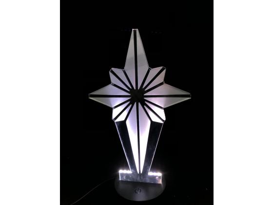 3D Lampe - Julestjerne 2