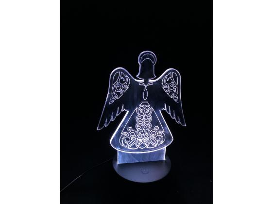 3D Lampe - Engel 9
