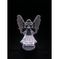 3D Lampe - Engel 2