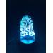 3D Lampe - Starwars R2D2