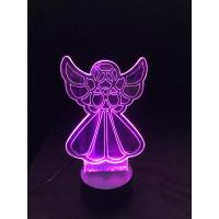 3D Lampe - Engel 5