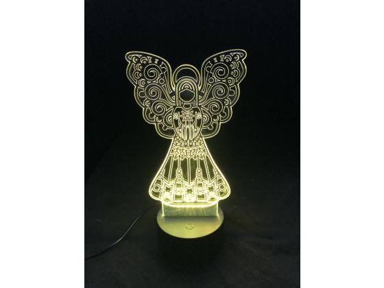 3D Lampe - Engel 3