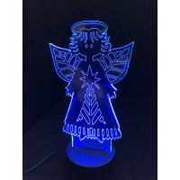 3D Lampe - Engel 8