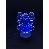 3D Lampe - Engel 4