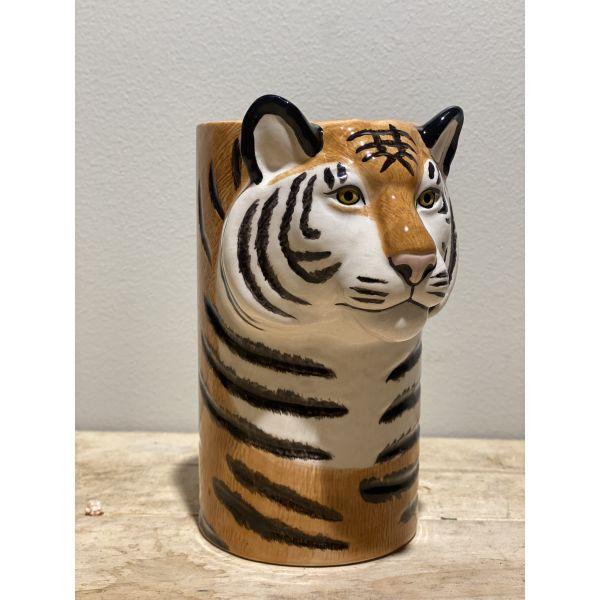 Tiger vase - Quail Ceramics