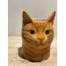 Kattpus vase/penneholder - Quail ceramics