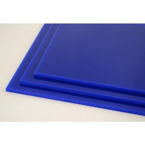Akryl 3mm blå 60x37,5cm