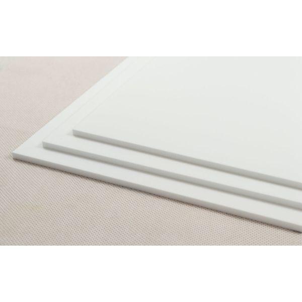 Akryl 3mm hvit 60x37,5cm