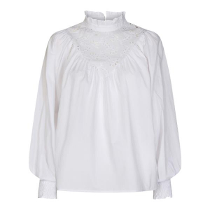 Briela Anglaise Shirt White