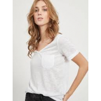 OBJTESSI white v-neck