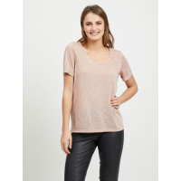 OBJTESSI ash rose v-neck