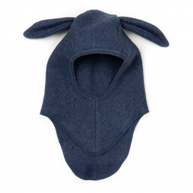 HUTTELIHUT - ELEFANTHUT FLEECE RABBIT NAVY