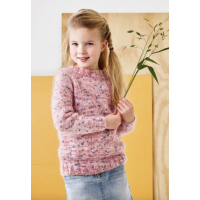Enkel genser m/raglan - Barn