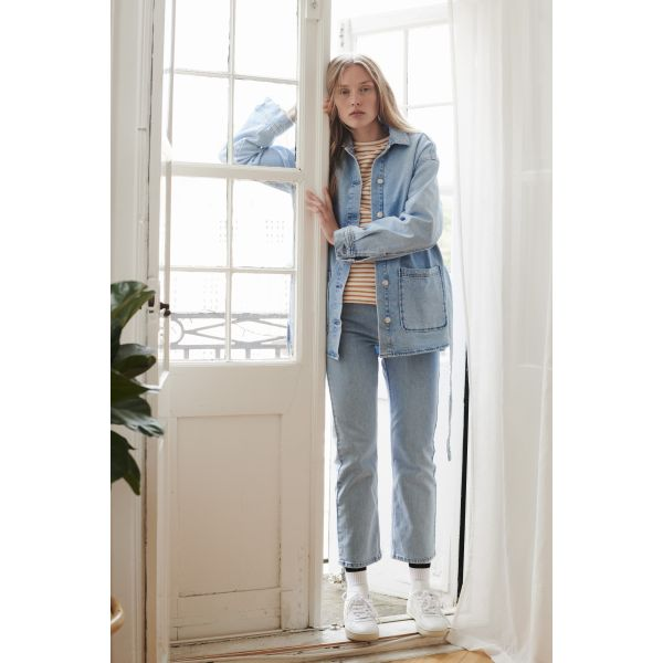 Ellen jeans lyseblå