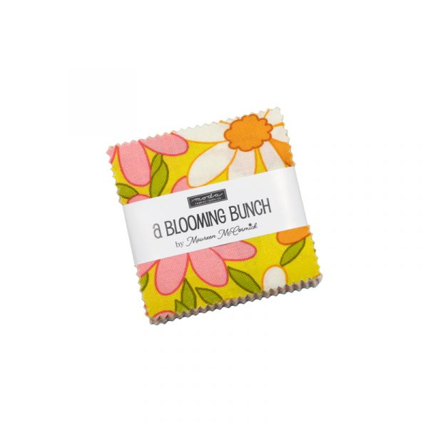 A Blooming bunch mini charm pack