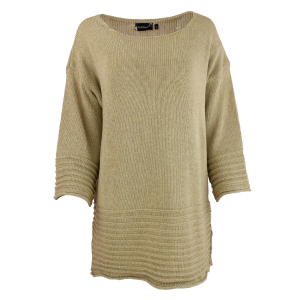 Bohéme Genser - Pullover Beige
