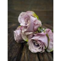 Rose rosa/hvit kort