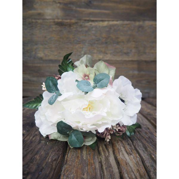 Bukett hvit/rosa