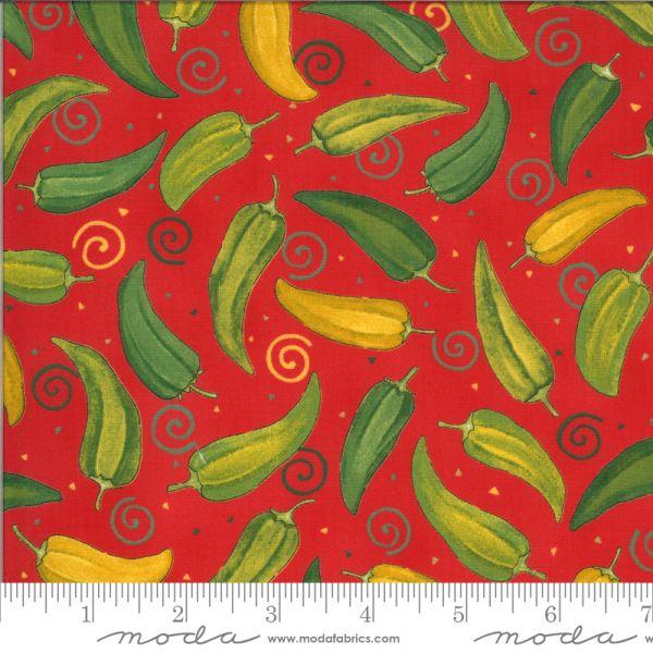 Homegrown salsa jalapeños rød