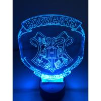 3D Lampe - Harry potter Hogwarts