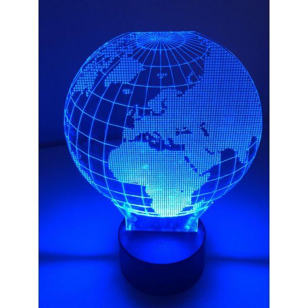 3D Lampe - Jordklode