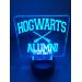 3D Lampe - Harry potter alumni