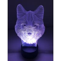 3D Lampe - Ulv