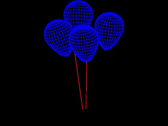 3D Lampe - Balonger