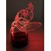 3D Lampe - Captain America