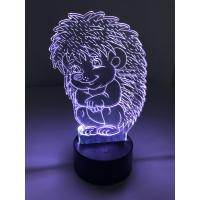 3D Lampe - Pinnsvin
