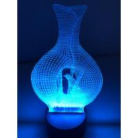 3D Lampe - Vase 1