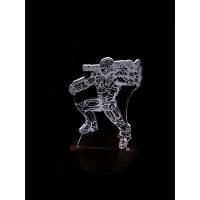 3D Lampe - Ironman Warmachine