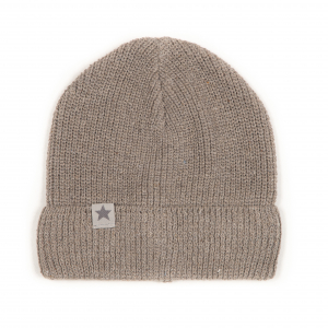 HUTTELIHUT - BEANIE RECYCLED SAND