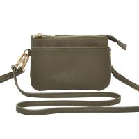 Anna army gold Zipper Pocket 696950