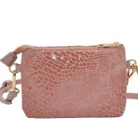 Anna animal pink gold Zipper 696636