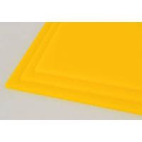 Akryl  3mm gul 30x21cm