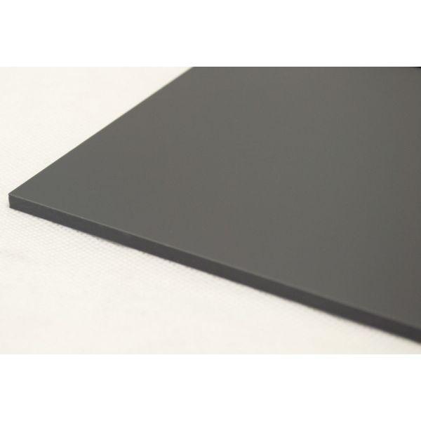 Akryl  3mm mineral grå 60x037,5cm