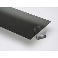 Akryl 4mm sotet grå 30x21cm