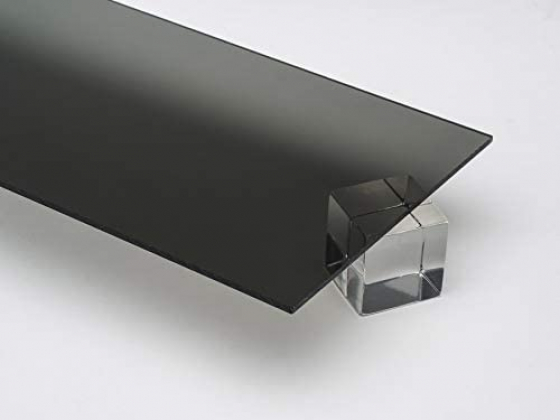 Akryl 3mm sotet grå 30x21cm