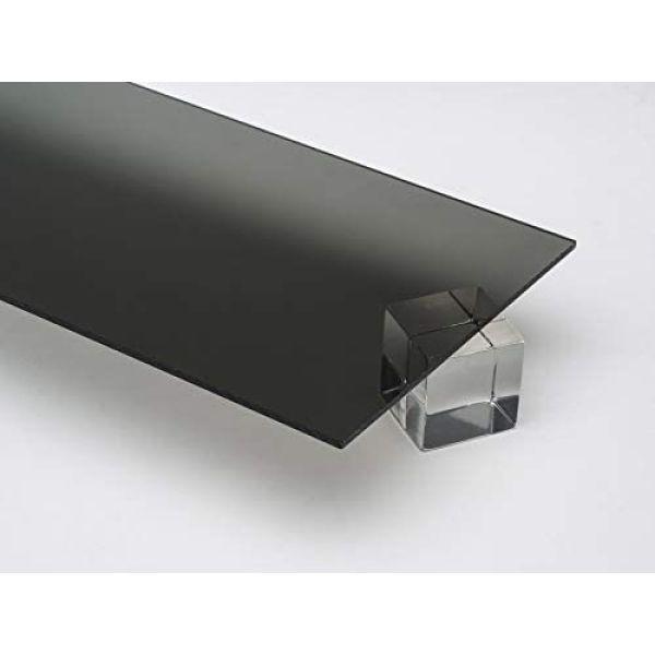 Akryl 3mm sotet grå 60x37,5cm