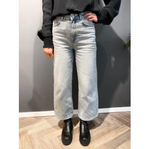 Thea Wide Crop Elli Blue Jeans