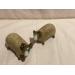 Salt og pepper bukk - quail ceramics