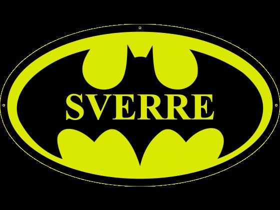 Navneskilt Batman