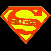 Navneskilt Superman