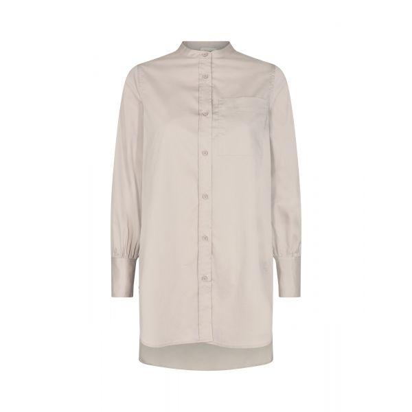 Isla 23 Solid Shirt Beige