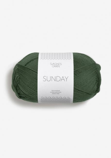 Sunday 8082 Skoggrønn - Sandnes Garn
