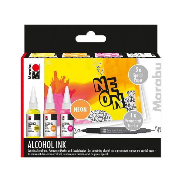 Marabu Alcohol Ink Sett – NEON