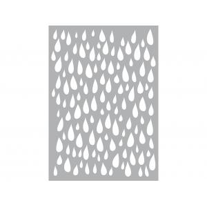 Pronty Mask Stencil A5 – Regndråper