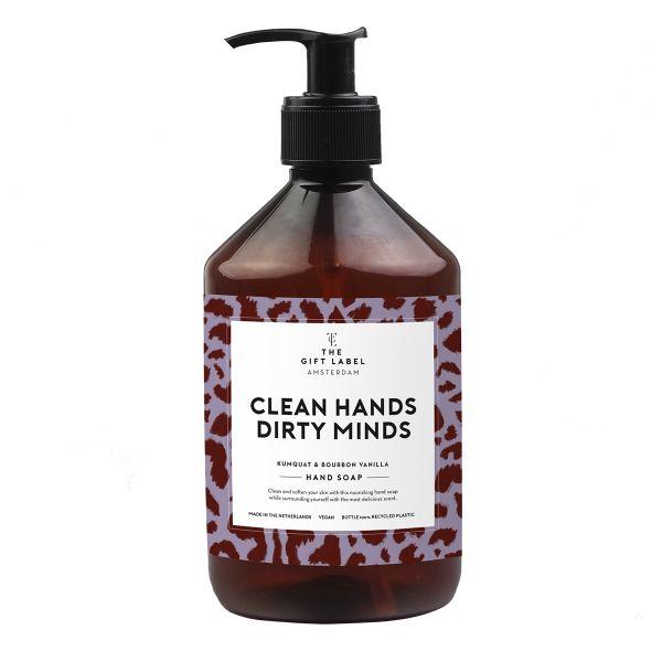 Clean hands dirty minds håndsåpe