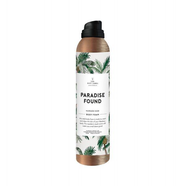 Paradise Found shower foam
